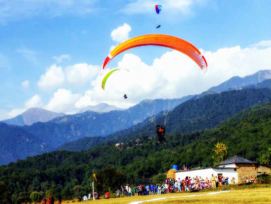 Paragliding and Staying in Bir Billing